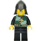 LEGO Drachen Knight mit Helm und Sneer Minifigur