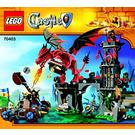 LEGO Dragon Mountain Set 70403 Instructions