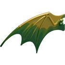LEGO Dragon Wing with Dark Green Trailing Edge (51342 / 51342)