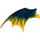 LEGO Dragon Wing with Yellow Trailing Edge (51342 / 57004)