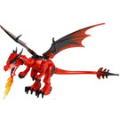 LEGO Dragon with Red Head