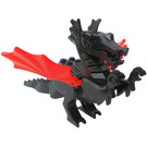 LEGO Dragon with Trans-Neon Orange Wings
