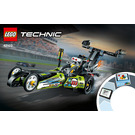 LEGO Dragster Set 42103 Instructions