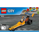 LEGO Dragster Transporter Set 60151 Instructions