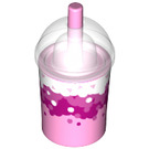 LEGO Drink Cup with Decoration (20398 / 34707)