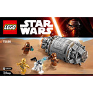 LEGO Droid Escape Pod Set 75136 Instructions
