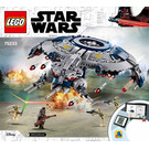 LEGO Droid Gunship Set 75233 Instructions