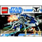 LEGO Droid Gunship Set 7678 Instructions