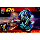 LEGO Droid Tri-Fighter Set 7252 Instructions