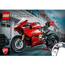 LEGO Ducati Panigale V4 R Set 42107 Instructions
