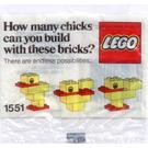 LEGO Duck Set 1551-1