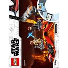 LEGO Duel on Mustafar  Set 75269 Instructions