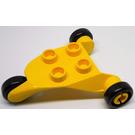 LEGO Duplo 3-wheel Frame (6356)