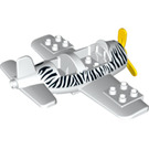 LEGO Duplo Airplane with Zebra Stripes (62780)