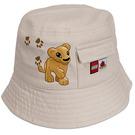 LEGO DUPLO Beige Bucket Hat (852028)