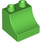 LEGO Duplo Brick with Curve 2 x 2 x 1.5 (11169)