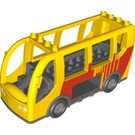 LEGO Duplo Bus with Red Traisit Markings (64642)