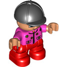 LEGO Duplo Child Figure with riding H. Duplo Figure