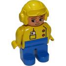 LEGO Duplo Female Pilot Duplo Figure