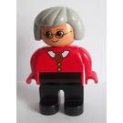 LEGO Duplo Female with Grey Hair