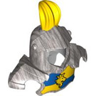 LEGO Duplo Helmet with Yellow Feather (51728 / 51767)