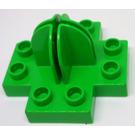 LEGO Duplo Holder with Base 4 x 4 x 2 Cross (42058)