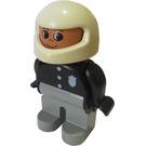 LEGO Duplo Male Police Motorcycle Rider Duplo Figure