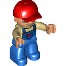 LEGO Duplo Male with Overalls with Pocket Duplo Figure