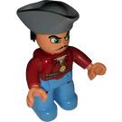 LEGO Duplo Pirate Duplo Figure