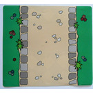 LEGO Duplo Plastic Playmat with Straight Road / Carpet