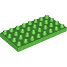 LEGO Duplo Plate 4 x 8 (4672 / 10199 / 20820)