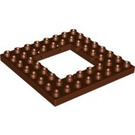 LEGO Duplo Plate 8 x 8 with 4 x 4 Hole (51705)