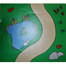 LEGO Duplo Playmat of Curved Road (42427)