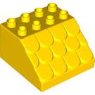 LEGO Duplo Slope 4 x 4 x 2 (18814)