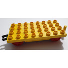 LEGO Duplo Train Wagon 4 x 8 with Moveable Hook (64666 / 76349)