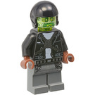 LEGO Dwayne (Transparent Head) Minifigure