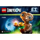 LEGO E.T Set 71258 Instructions