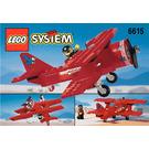 LEGO Eagle Stunt Flyer Set 6615 Instructions