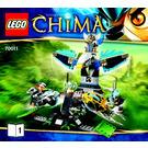 LEGO Eagles' Castle Set 70011 Instructions