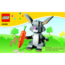 LEGO Easter Bunny Set 40086 Instructions