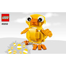 LEGO Easter Chick Set 40202 Instructions