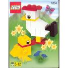 LEGO Easter Chicks Set 1264 Instructions