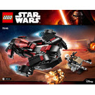 LEGO Eclipse Fighter Set 75145 Instructions