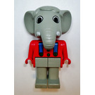LEGO Edward Elephant 1986 Version Fabuland Minifigure