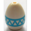 LEGO Egg with Easter Egg Zigzag Pattern (24946)