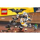 LEGO Egghead Mech Food Fight Set 70920 Instructions