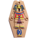LEGO Egyptian Coffin Lid with Decoration (30164)