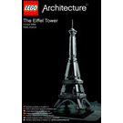 LEGO Eiffel Tower Set 21019 Instructions