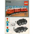 LEGO Electric Passenger Train Set 7725 Instructions