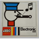 LEGO Electronic Train Set 118-1 Instructions